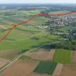 Geplante Trasse um Rudelzhausen