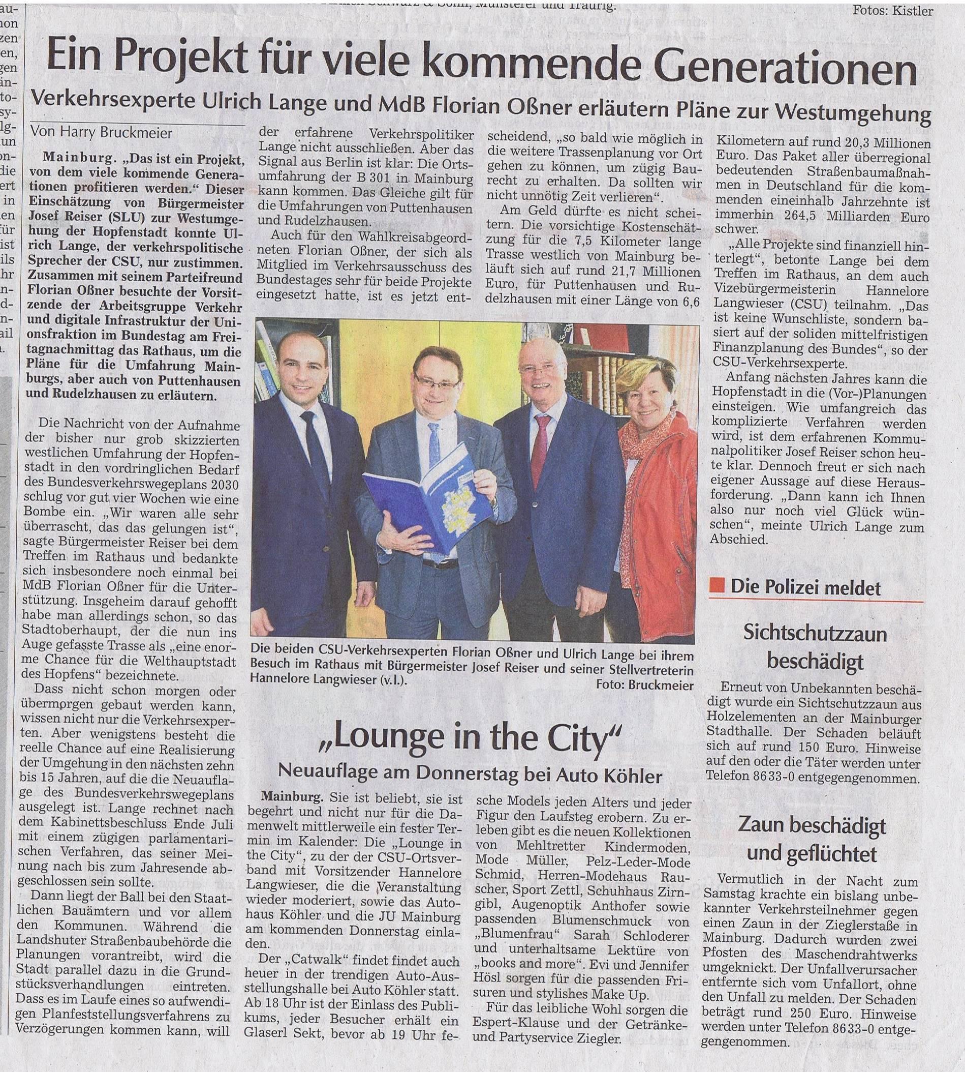 Hallertau Zeitung