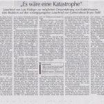 Hallertauer Zeitung vom 05.05.2016 Leserbrief von Lutz Rüdiger, Furthmühle