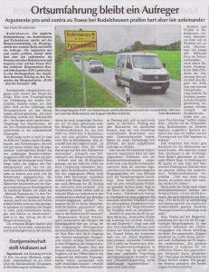 Hallertauer Zeitung vom 27.04.2017..