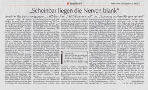 Hallertauer Zeitung vom 19.09.2017