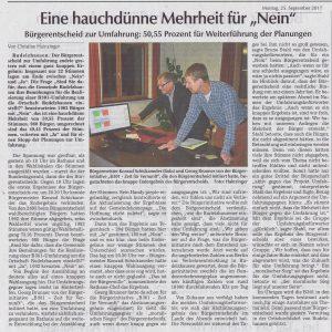 Hallertauer Zeitung vom 25.09.2017